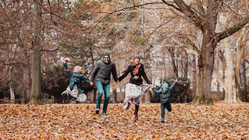 Jesenné fotohrátky v Sade Janka Kráľa